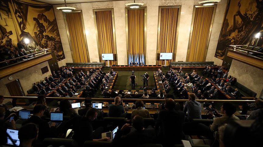 Suriye Anayasa Komitesi'ne altı ülkeden destek