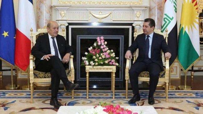 Başbakan Barzani, Fransa ile Rojava'yı görüştü