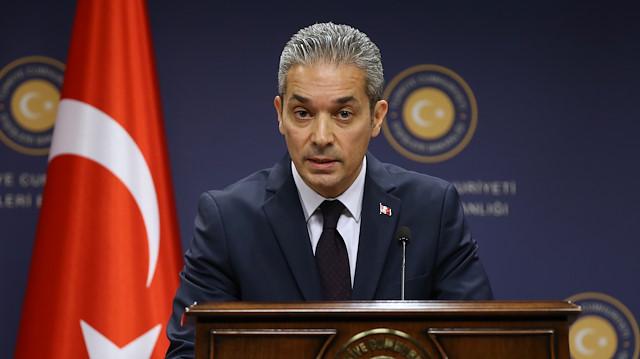ABD'nin terörizm raporuna Türkiye'den tepki