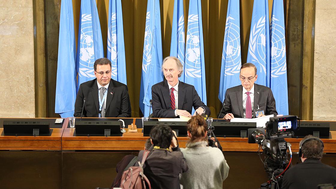 AB'den Anayasa Komitesi'ne Suriye çağrısı