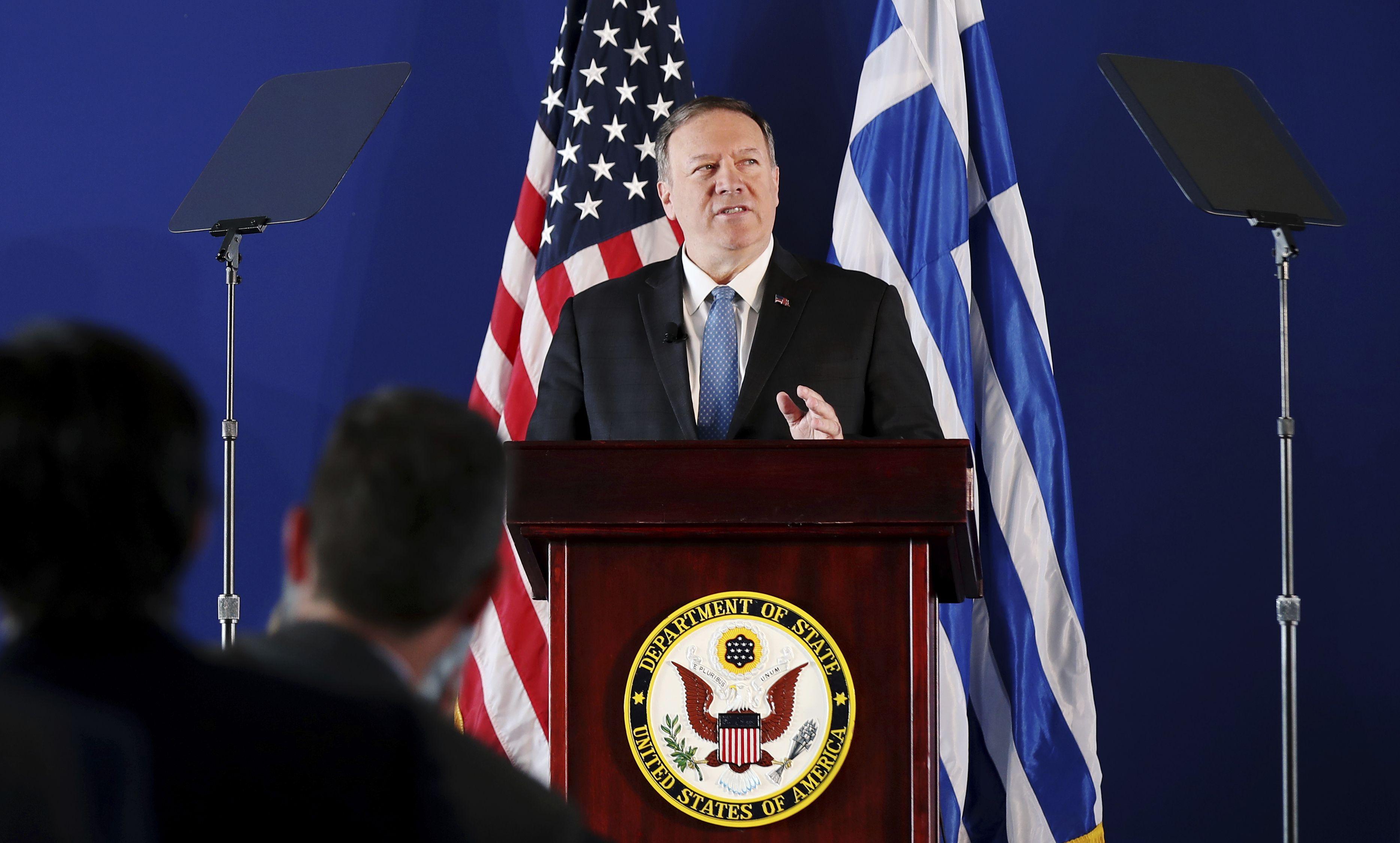 Pompeo: Türkiye'nin yaptıklarına karşı askeri müdahaleye hazırız