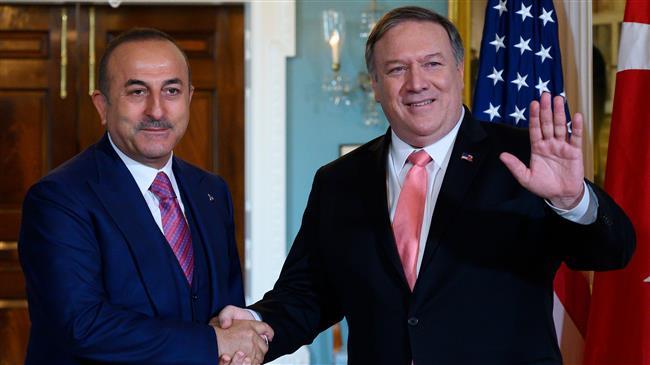 Çavuşoğlu, Pompeo'dan Mazlum Kobane'yi istedi