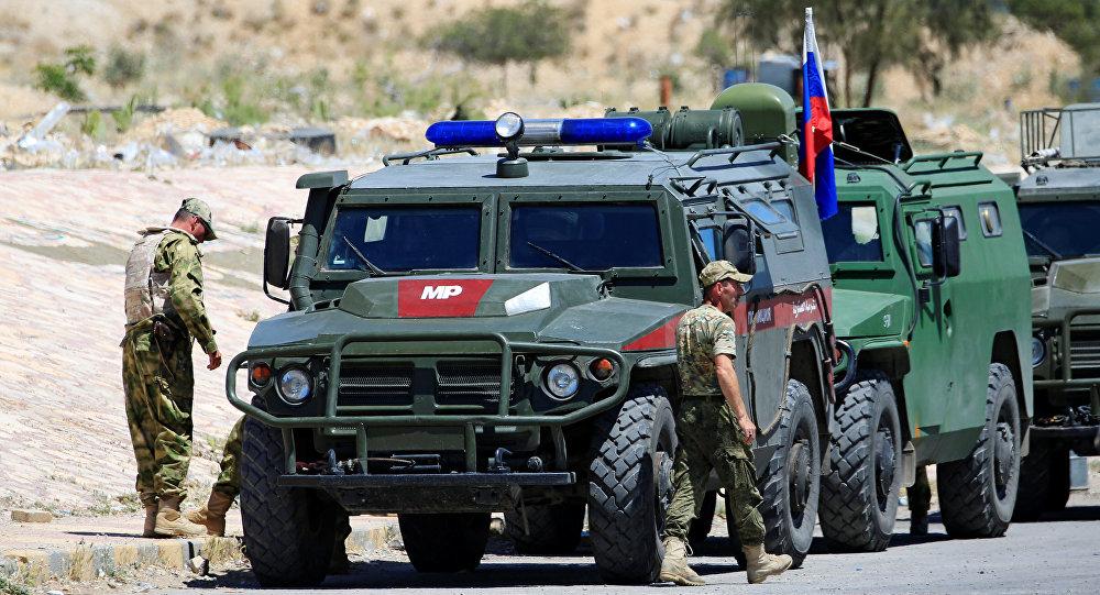 Kamışlo'da 12'inci Rus-Türk ortak devriyesi