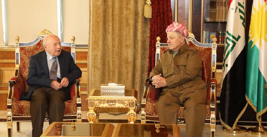 Başkan Barzani İsmail Beşikçi ile görüştü