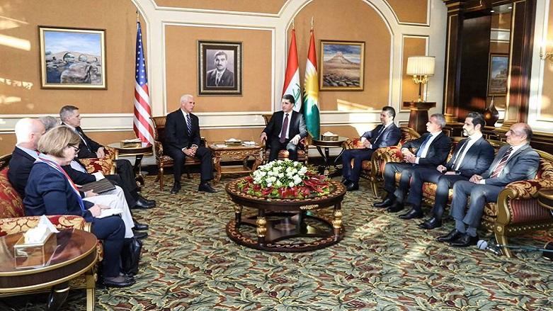 Pence'den ABD ve Kürt halkı ilişkilerine önemli vurgu