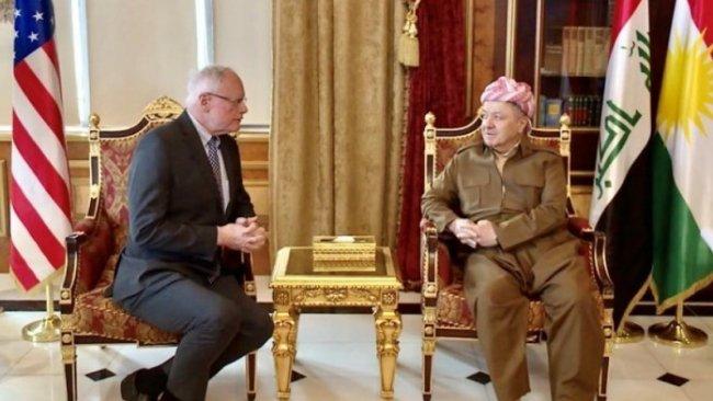 Başkan Barzani ve James Jeffrey Rojava'yı görüştü