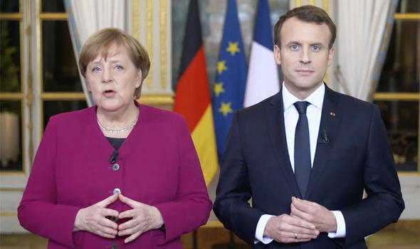 Macron'un açıklamalarına Angela Merkel'den tepki