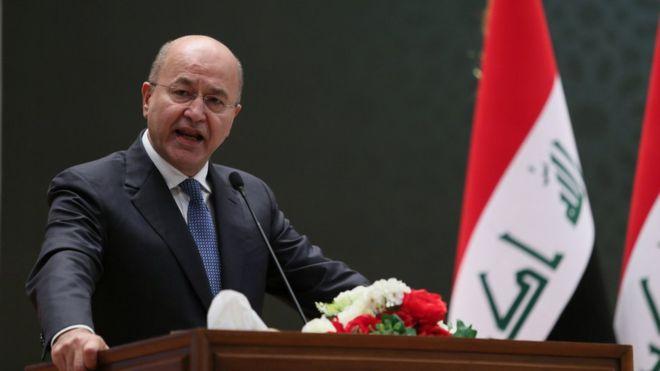 Irak   Berhem Salih istifa sinyalleri veriyor