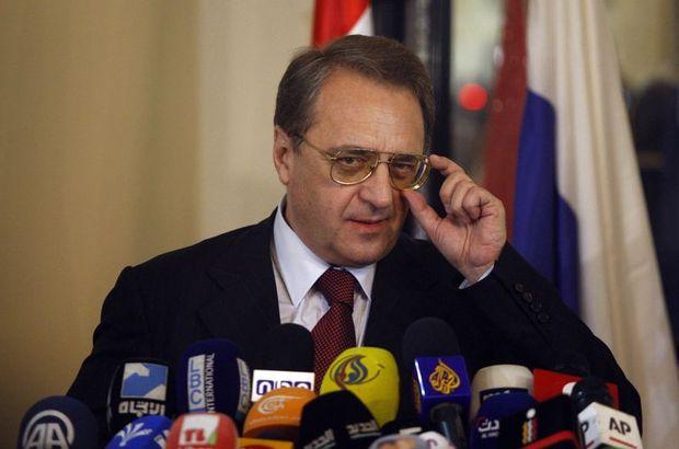 Bogdanov, ENKS heyeti ile Rojava ve Suriye'yi görüştü