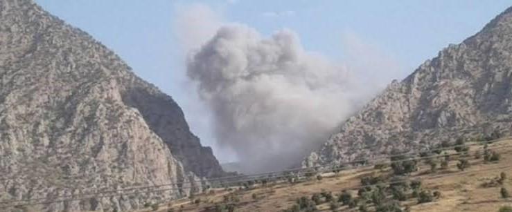 Zap ve Haftanin'e bombardıman, Dersim'de operasyon