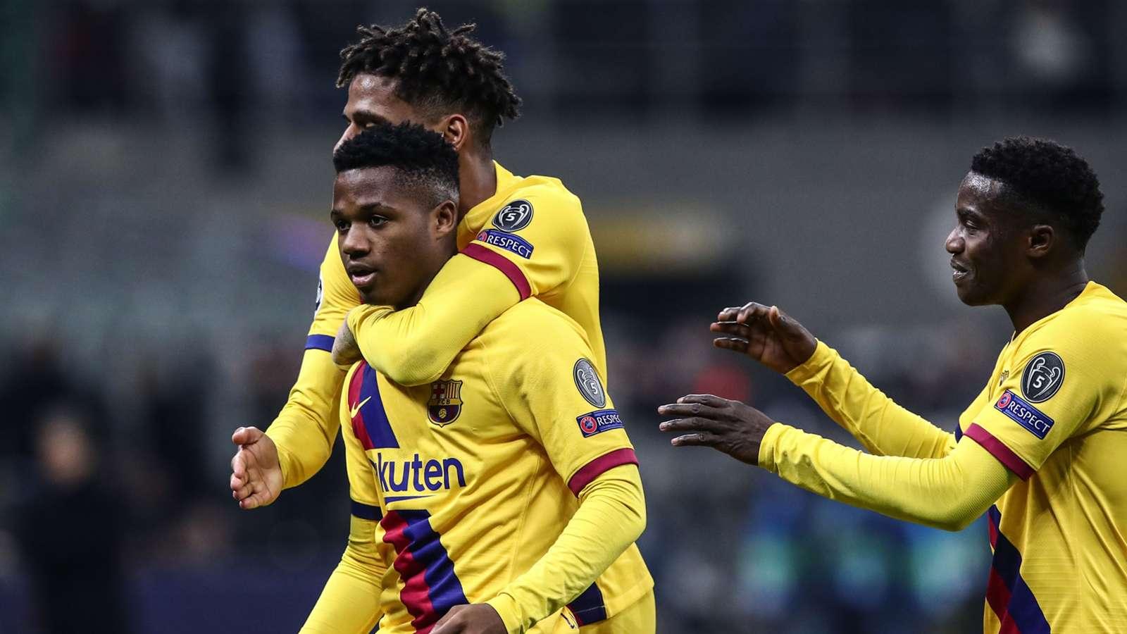 Barça'nın 17'lik yıldızından rekor