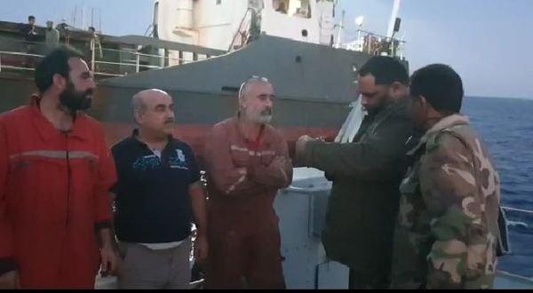 Libya'da Hafter Güçleri Türk mürettebatlarını alıkoydu