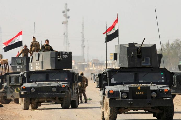 Irak ordusundan Mahmur'da IŞİD'e baskın