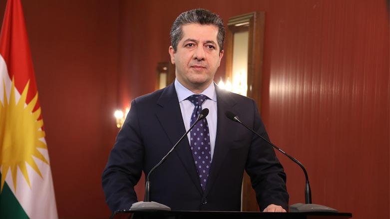 Başbakan Mesrur Barzani'den KYB mesajı