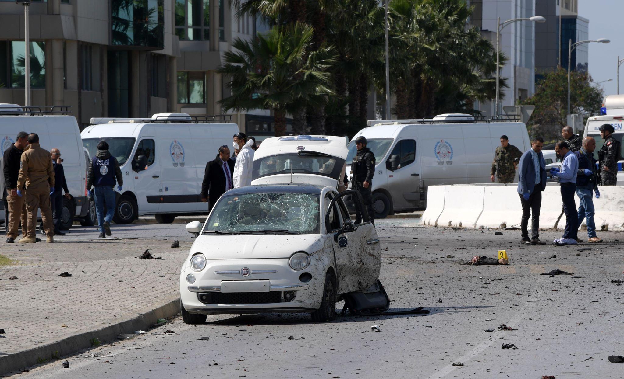 ABD Büyükelçiliği yakınında bombalı saldırı!