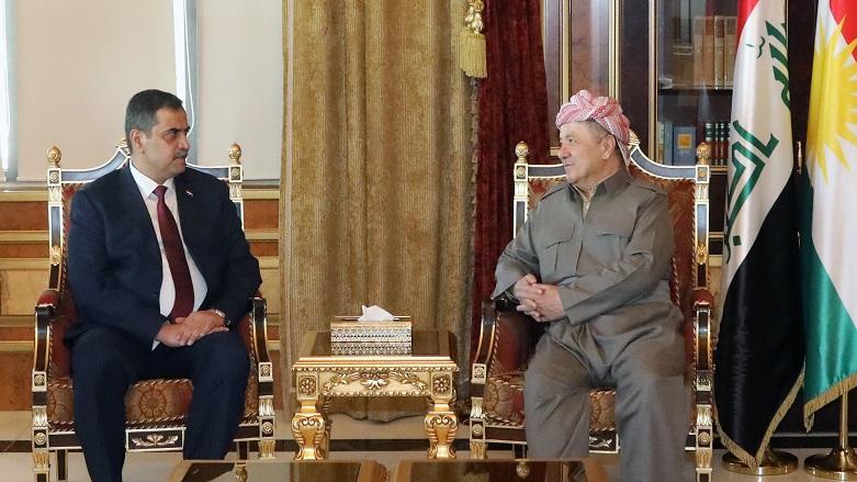 Başkan Barzani, Şemeri ile güvenlik durumunu görüştü