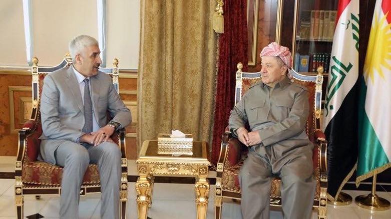 Ubeydi'den Başkan Mesud Barzani'ye teşekkür