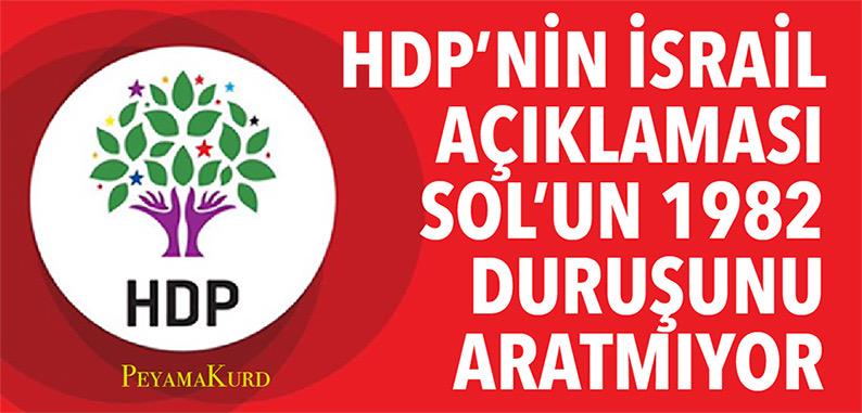 HDP'nin açıklama talimatlarını '1982 ekolü' mü yönetiyor?