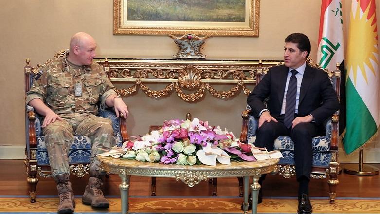 Barzani İngiliz yetkililer ile artan IŞİD saldırılarını görüştü