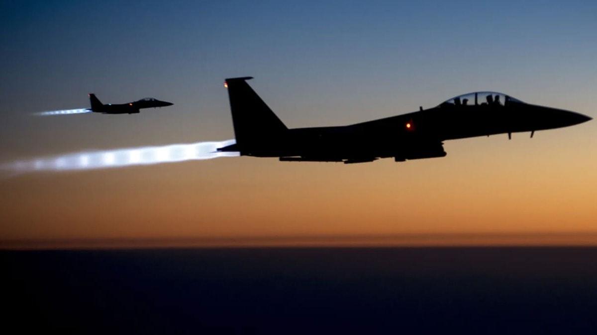 Suriye-Irak sınırındaki Hizbullah mevzilerine hava saldırısı