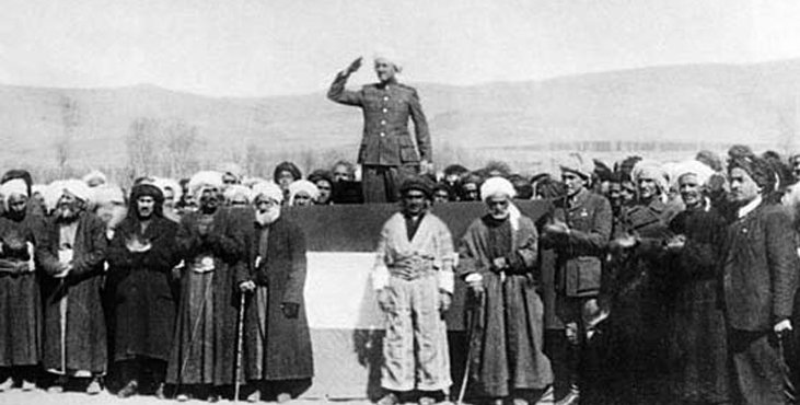 74 yıl önce bugün Mahabad Kürdistan Cumhuriyeti kuruldu