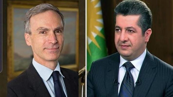 'İngiltere ve Kürdistan Bölgedeki huzurun korunmasında hemfikir'