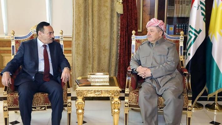 Başkan Barzani, Cuburi ile Ninova-Musul'u görüştü