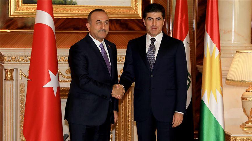 Neçirvan Barzani Davos'ta Çavuşoğlu ile görüşecek