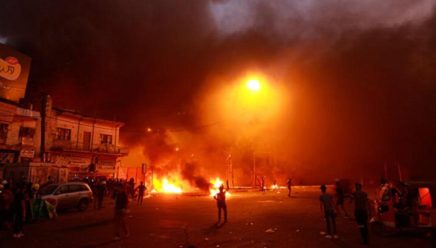Ülkede Hizbullah Tugayları ateşe verildi