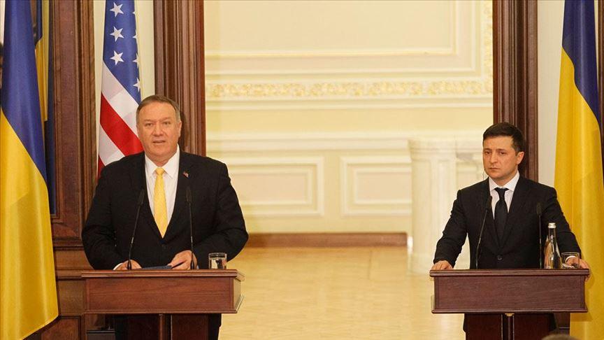 Pompeo'dan Ukrayna ile ilgili NATO ve AB üyeliği mesajı