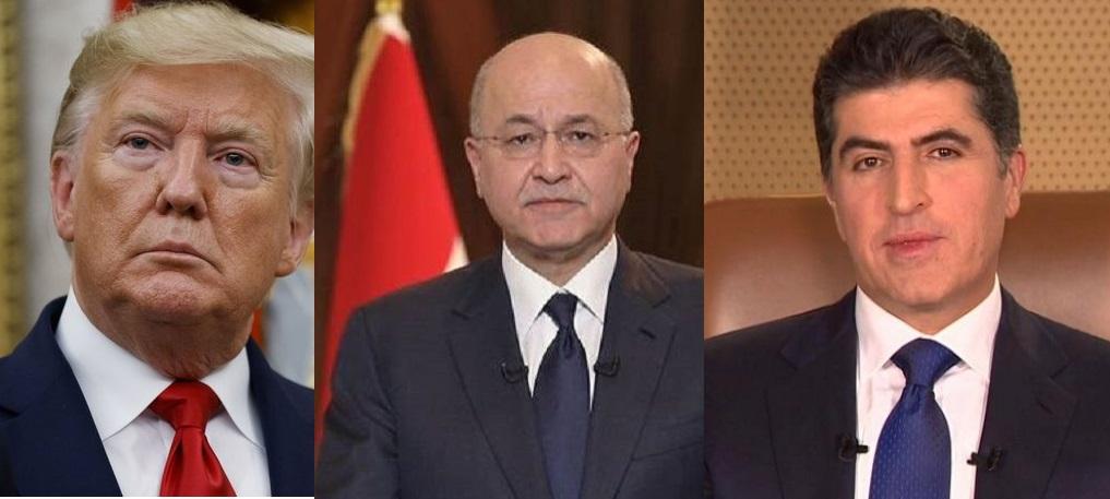 Trump, Neçirvan Barzani ve Salih ile ayrı ayrı görüşecek