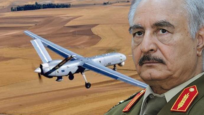 Libya | Hafter güçleri, Türk İHA'sı vurdu...