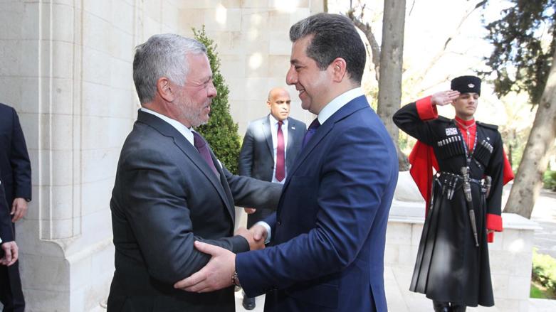 Başbakan Mesrur Barzani Amman'da
