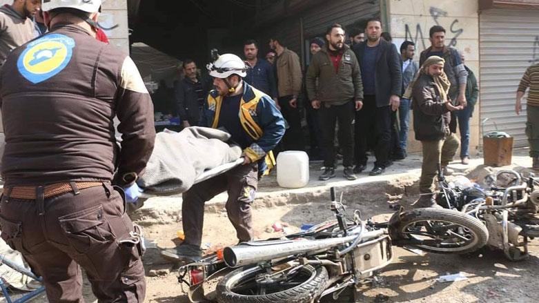 Efrin'de bomba yüklü araçla saldırı!