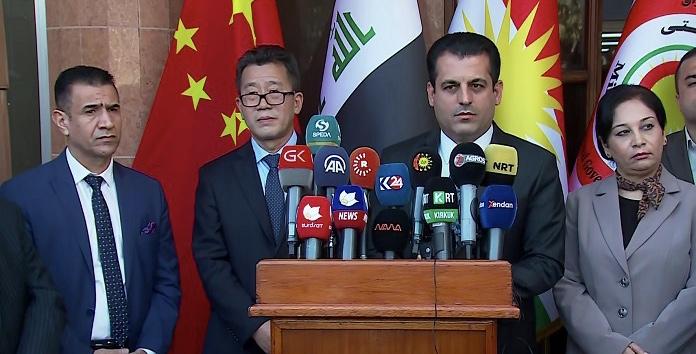 Çin Başkonsolosu: Kürdistan Bölgesiyle beraber yeneceğiz