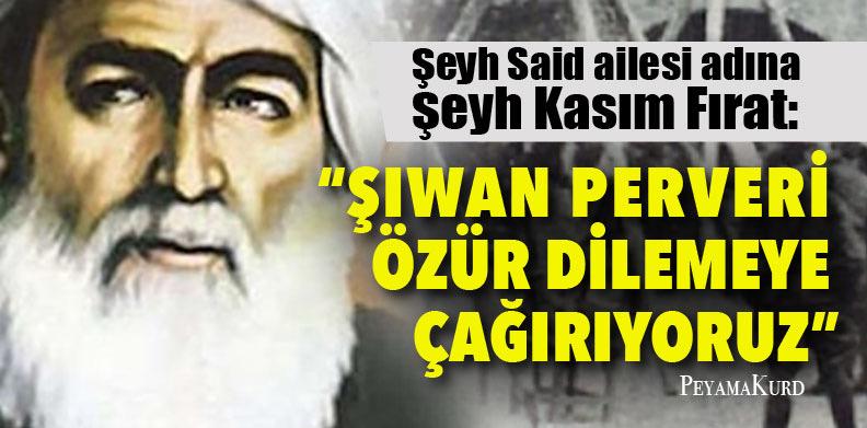 """""""Şiwan Perver bizi hayal kırıklığına uğratmıştır"""""""