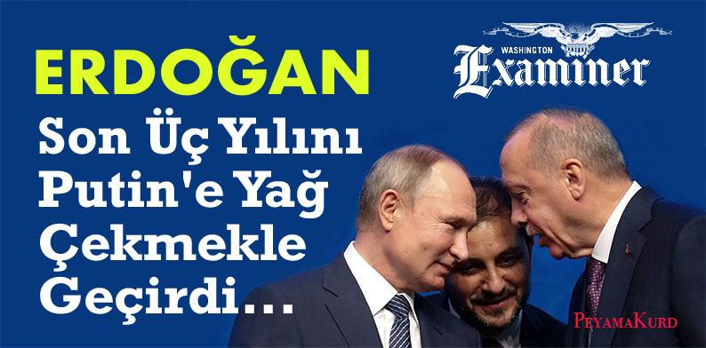 Washington Examiner: Suçlanacak biri varsa o da Erdoğan