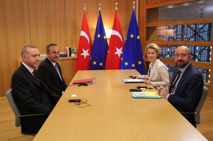 İngiliz gazeteleri Erdoğan'ın Brüksel ziyaretine geniş yer ayırdı