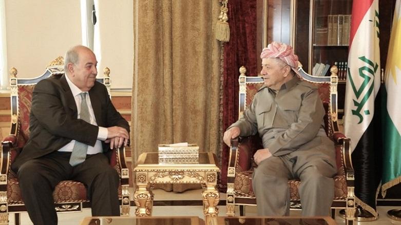 Irak konusunda Başkan Barzani-Allavi uzlaşmaya vardı