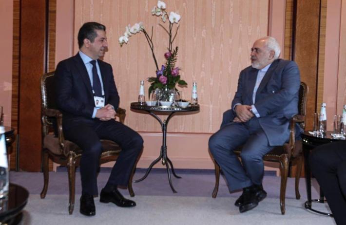 Barzani ve Zarif'in Münih'teki görüşmesi Başladı