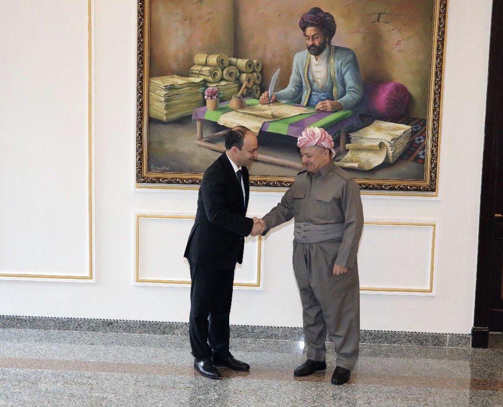 Baydemir Başkan Barzani'ye teşekkür etti