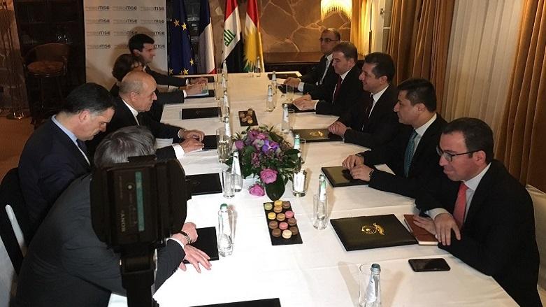 Fransa'dan Kürdistan ve Peşmerge Güçlerine destek