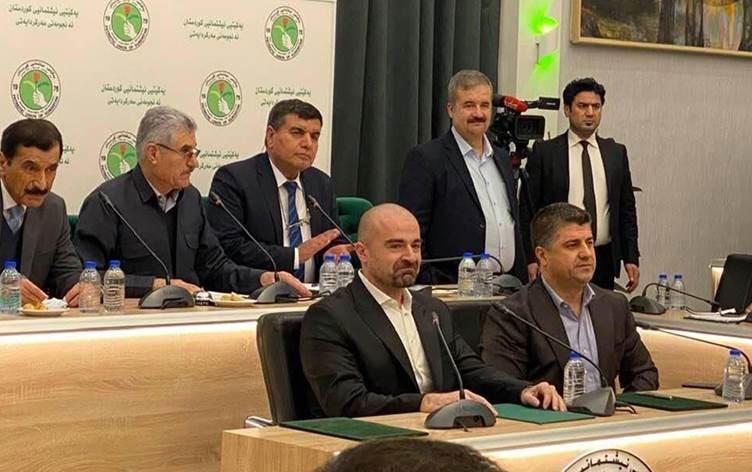 KYB'nin eş başkanları seçildi: Bafil ve Lahor Talabani...