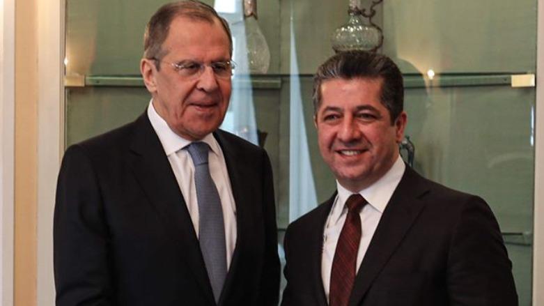Barzani ve Lavrov görüşmesi Rus basınında gündem yarattı