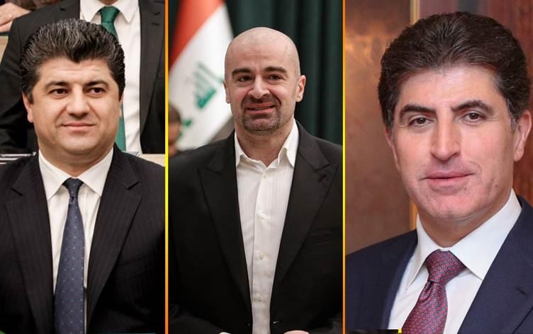 Neçirvan Barzani'den KYB eş başkanlarına tebrik...