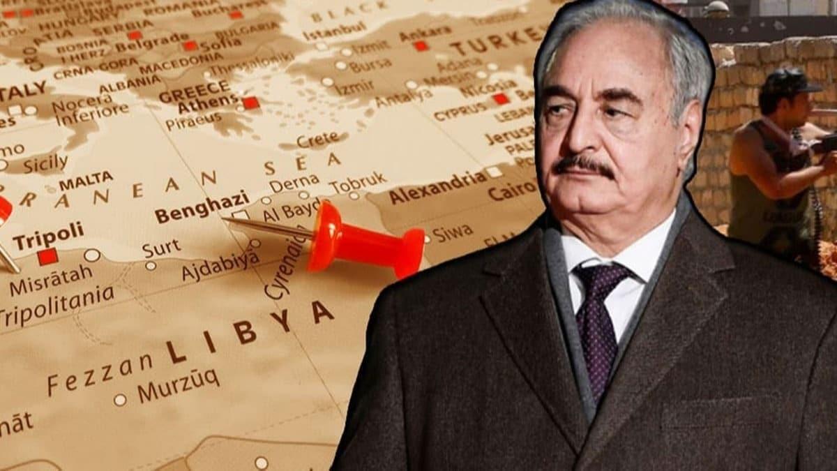 Hafter'den 'Türkiye'ye karşı birleşin' çağrısı