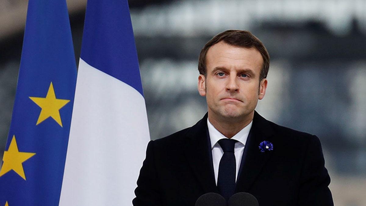 Emmanuel Macron'dan uyarı: Bu sadece ilk adım