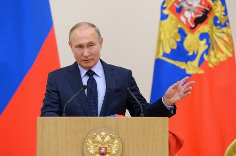 """Vladimir Putin'den """"Bu ne saçmalık"""" açıklaması"""