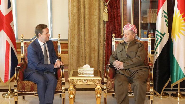 İngiltere: Güçlü ve birlik içinde bir Kürdistan istiyoruz