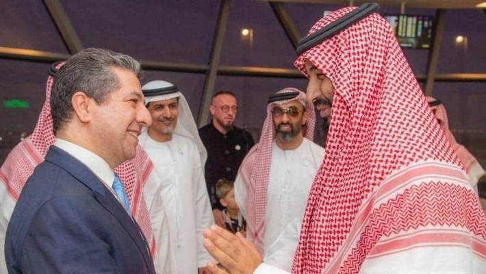 Mesrur Barzani Suudi Veliaht Selman ile görüştü